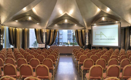 Impianto per sala congressi<br> Hotel Ambasciatori