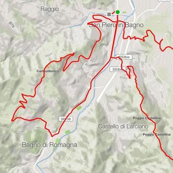 <b>Doppio anello di Corzano</b><br><br><b>Difficoltà</b>: Medio<br><br><b>Tipo</b>: MTB<br><br><b>Dislivello</b>: 820 m<br><br><b>Lunghezza</b>: 25 km<br><br><b>Tempo stimato</b>: 2.15 h<br><br>