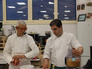 Chef Teverini e Sous Chef Iaria