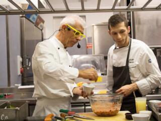 Chef Teverini e Sous Chef Osmani