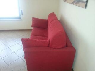 Uno dei divani letti matrimoniali del Teodolinda