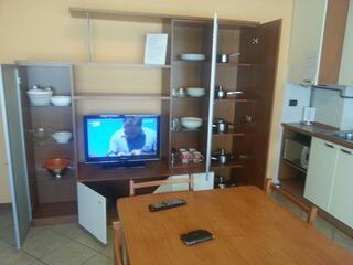 zona TV soggiorno Residence Teodolinda