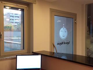 La Reception del Residence Luna di Monza