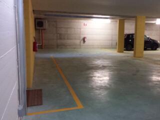 I posti auto interrati del Residence Luna di Monza