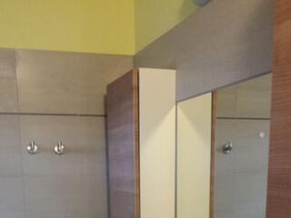 uno dei bagni privati del Residence Luna di Monza
