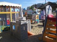 ..una delle tante aree Baby in Spiaggia, recintata