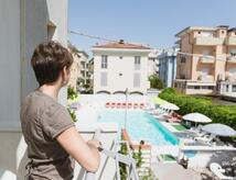Juli 2021 All-inclusive-Angebot am Meer, Familienhotel in Rimini mit Swimmingpool und BaBy Club