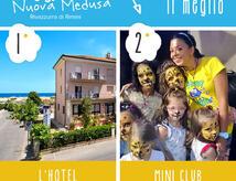 OFFERTA PRIMA SETTIMANA DI SETTEMBRE  HOTEL SUL MARE