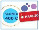 Speciale Famiglia Maggio risparmi fino a 400 €