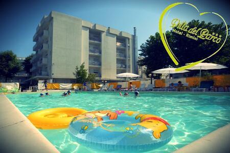Hotel  Rimini Agosto 2018 – Family Hotel  con Formula All Inclusive