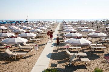 Angebot Sommer2021 im Ferienwohnungen Rimini am strand