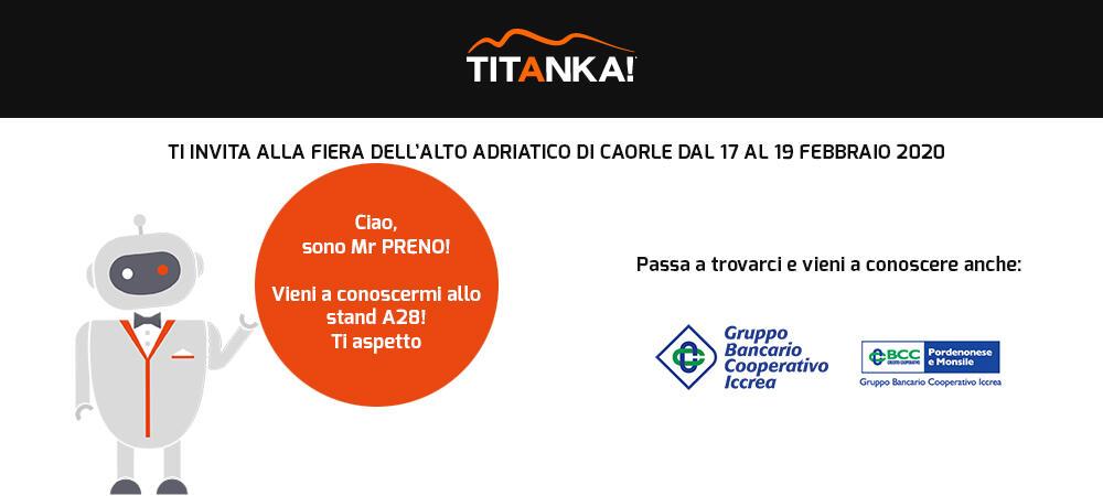 TITANKA! e il Gruppo Bancario Cooperativo Iccrea ti aspettano a Caorle