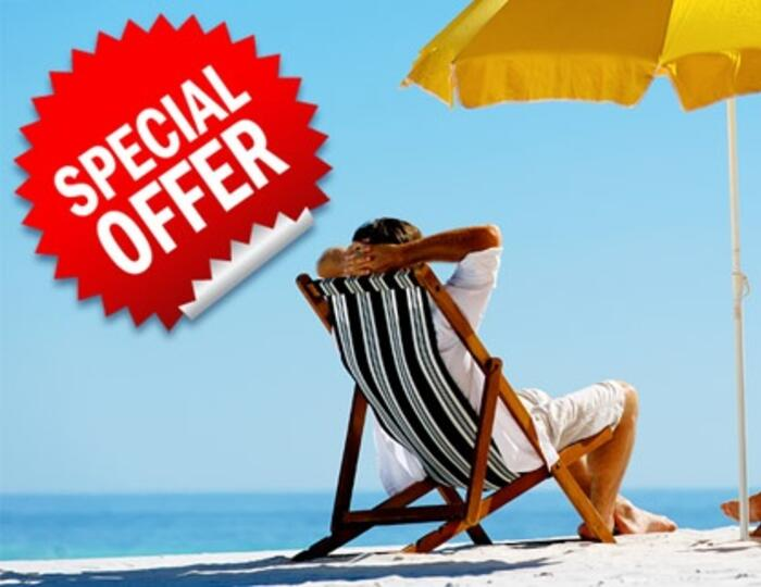 HOTEL WATERFRONT HOLIDAY OFFER FOR COUPLES IN GIFT July BOAT TRIP
