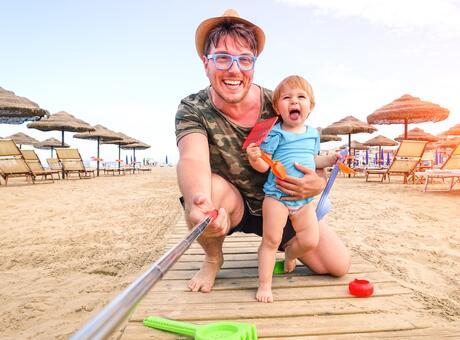 Offre de mi-Juillet in hotel de Rimini avec babyclub et piscine