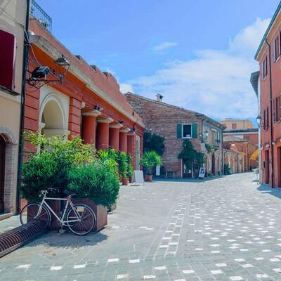 E-bike Tour a Santarcangelo – Partenza da Rimini – MERCOLEDI' MATTINA