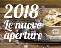 Nuove aperture 2018