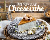 Cheesecake, take your slice