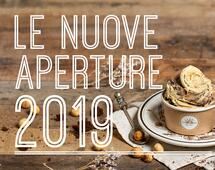 Nuove aperture 2019