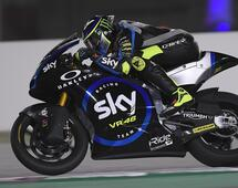 En pista con el SKY Racing Team VR46