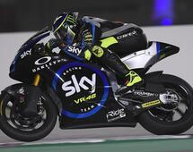 In pista con lo SKY RACING TEAM VR46