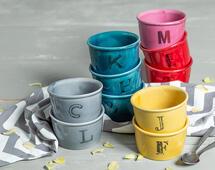 Una letra para cada cerámica