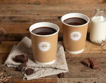 El chocolate caliente se duplica - Novedad 2019