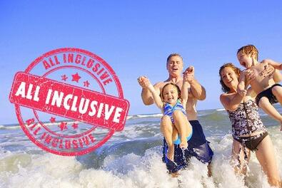OFFER AUGUST WITH CHILDREN FREE IN HOTEL 3 STARS WITH PARKING IN RICCIONE