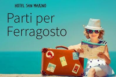 OFFERTA FERRAGOSTO 2019 A RICCIONE IN HOTEL 3 STELLE CON SPIAGGIA GRATIS