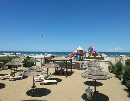 August in Rimini cheap week for families