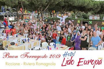 Ferragosto Holidays All Inclusive Riccione im Hotel mit Unterhaltung und Mini Club