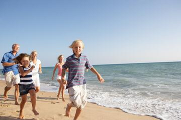 End of September Holidays in hotel Riccione with family plans