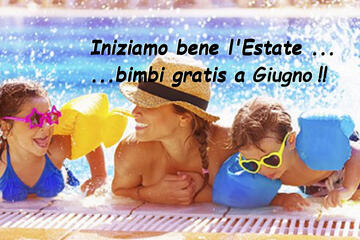 HOLIDAYS START: June Offer in Riccione with a CHILD STAYING FREE