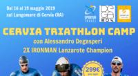 Dal 16 al 19 Maggio 2019 - Cervia Triathlon Camp con Alessandro De Gasperi