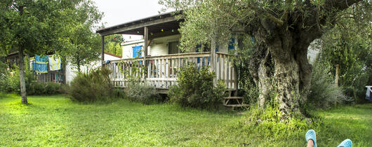 Aanbieding april in stacaravan op de camping village in Toscane