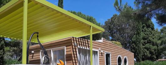 Tilbud på campingplads i Toscana med mobile homes for familier med temaet Freddy