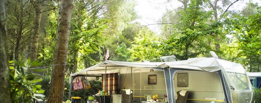 Weekend tilbud på standplads på campingplads i Toscana