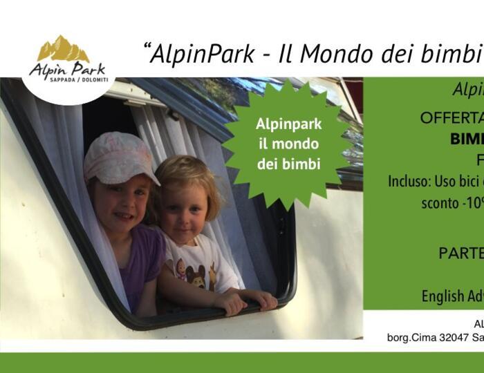 Alpin Park: bimbi gratis in piazzola
