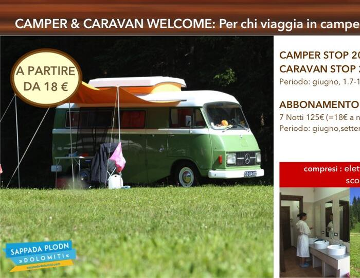 - SPECIAL OFFERS CAMPING 2019 -