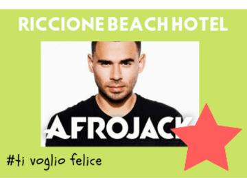 Concerto Afrojack Achille Lauro - sabato 10 agosto- Rimini Beach Arena