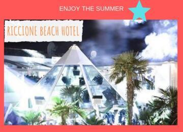 Offerta Weekend Villa delle Rose 19 - 20 - 21 Luglio 2019 + Riccione Beach Hotel