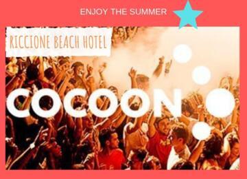 Offerta Cocoon Villa delle Rose 25 Luglio 2019 + Riccione Beach Hotel