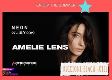 Offerta Amelie Lens Altromondo Studios 27 Luglio 2019 + Riccione Beach Hotel