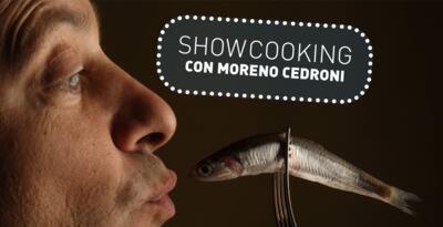 show cooking di MORENO CEDRONI all'Embassy