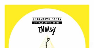 Friday 08 April 2016 Embassy present Titilla party
