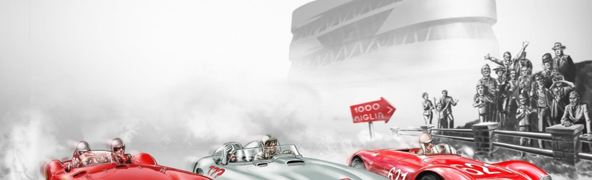 MILLE MIGLIA, THE MOST BEAUTIFUL RACE IN THE WORLD