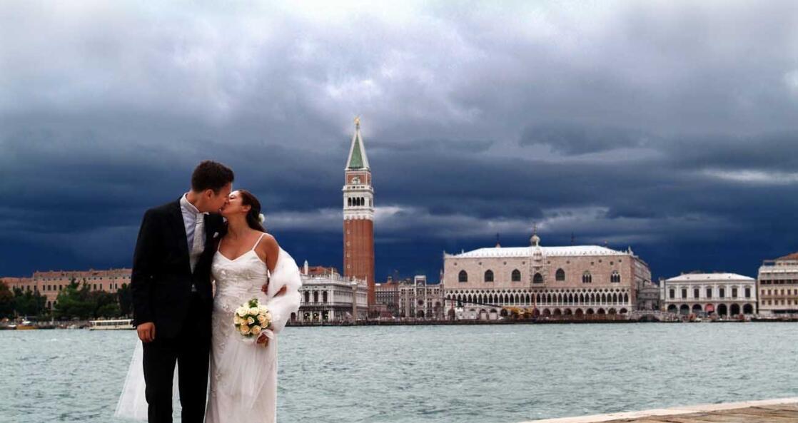 Symbolische Hochzeit in Venedig oder Erneuung des Eheversprechens
