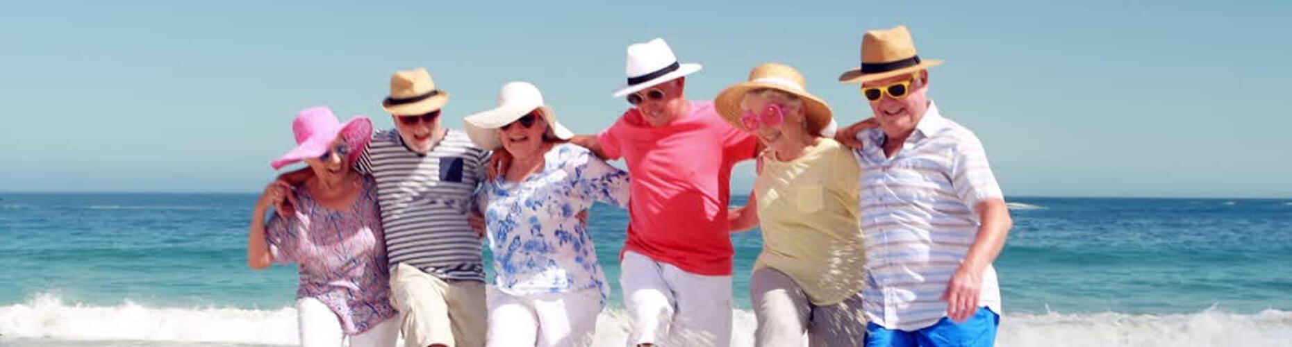 Hai più di 65 anni? Goditi il mare con la nostra promo!
