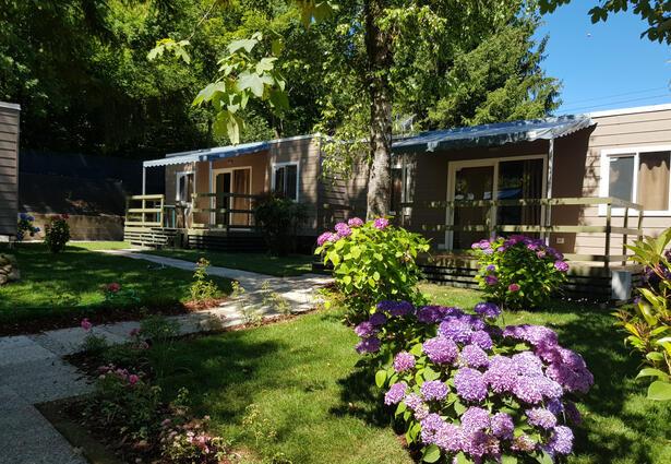 Offerta di Primavera casa mobile in Campeggio vicino al Lago di Como
