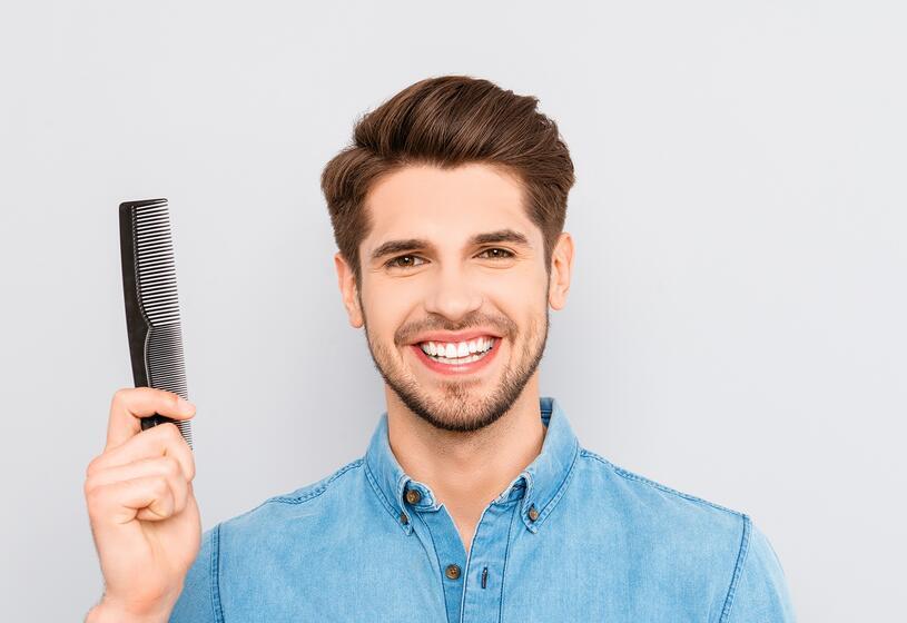 Perdita capelli uomo: 3 rimedi naturali