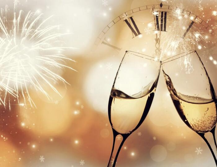 New Year's Eve at Alba Palace Hotel with Dinner Included